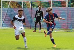 Tony Villeray et la défense du Stade Malherbe Caen ont dû s'incliner à trois reprises au retour des vestiaires