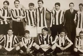 Match du 22 janvier 1914 disputé par les futurs joueurs du Stade Malherbe Caen dans le cadre d'un match universitaire