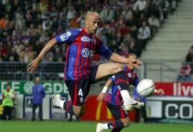 Brahim Thiam a inscrit son seul but sous les couleurs du Stade Malherbe Caen face au Havre en 2006