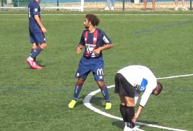 Mario Fortunato a inscrit le deuxième but du Stade Malherbe Caen sur un penalty obtenu par Robin Legendre