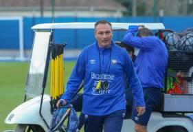 Fabrice Vandeputte dirigera son premier match officiel à la tête du Stade Malherbe demain soir