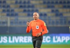 Gaël Angoula va arbitrer son sixième match de Ligue 2 BKT demain soir face au Dijon FCO