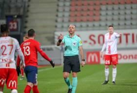 Bartolomeu Varela avait notamment arbitré le Stade Malherbe Caen lors d'un déplacement à Nancy la saison dernière