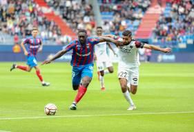 Alexandre Mendy a de nouveau beaucoup pesé sur la défense adverse samedi lors de la réception de Sochaux