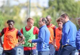 Les joueurs de Stéphane Moulin reprendront l'entraînement ce lundi après-midi sur les terrains de Venoix