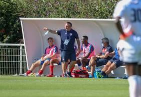 Fabrice Vandeputte et les Caennais reçoivent les joueurs du FC Rouen samedi après-midi en National 2