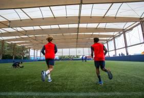 Les joueurs du Stade Malherbe Caen vont connaître leur première semaine complète sous les ordres de Stéphane Moulin