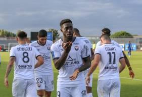 Alexandre Mendy a permis au Stade Malherbe Caen de remporter son deuxième match de suite dans ce début de saison
