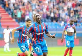 Avec 5 buts marqués depuis le début de la saison, Alexandre Mendy est le meilleur buteur de Ligue 2 BKT