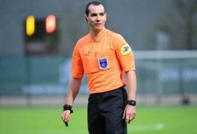 Aurélien Petit avait arbitré le Stade Malherbe Caen à deux reprises lors de la saison 2019 / 2020