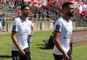 Ali Abdi, Steve Shamal et les Caennais ont gardé leur but vierge face au Nîmes Olympique cet après-midi