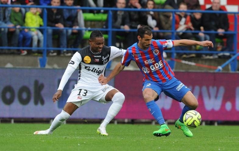 Encore une fois l'un des meilleurs caennais sur la pelouse, Nicolas Seube n'a pu empêcher le Stade Malherbe de concéder une troisième défaite consécutive.