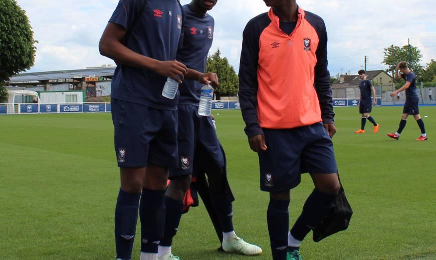 L'entraînement des U19