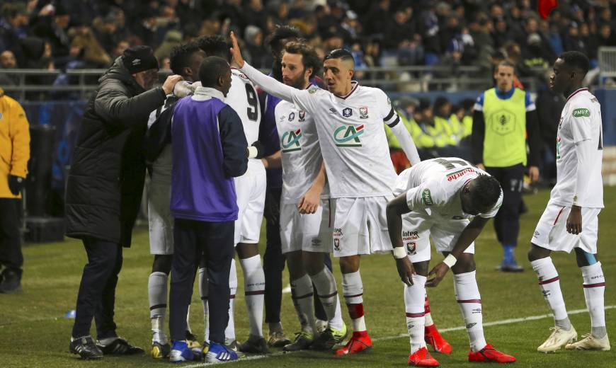 8e - SC Bastia / SM Caen : l'album-photos