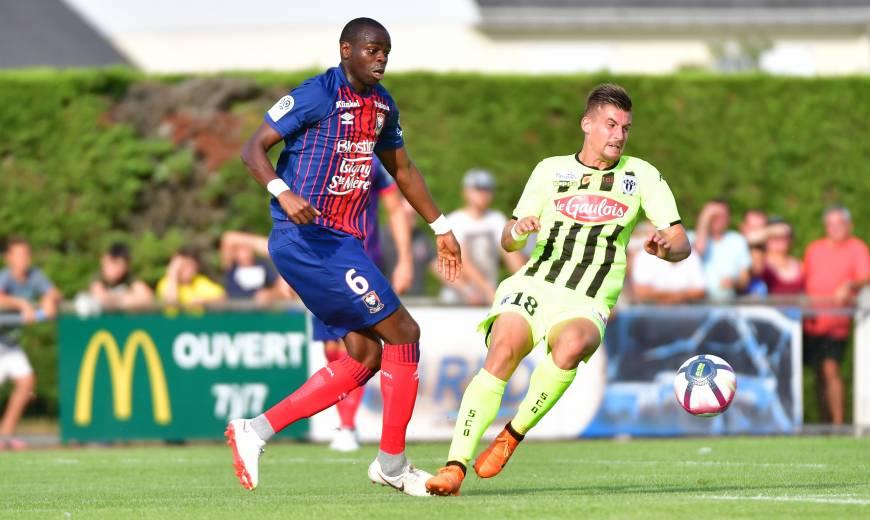 Amical - Angers SCO / SM Caen: L'album-photo