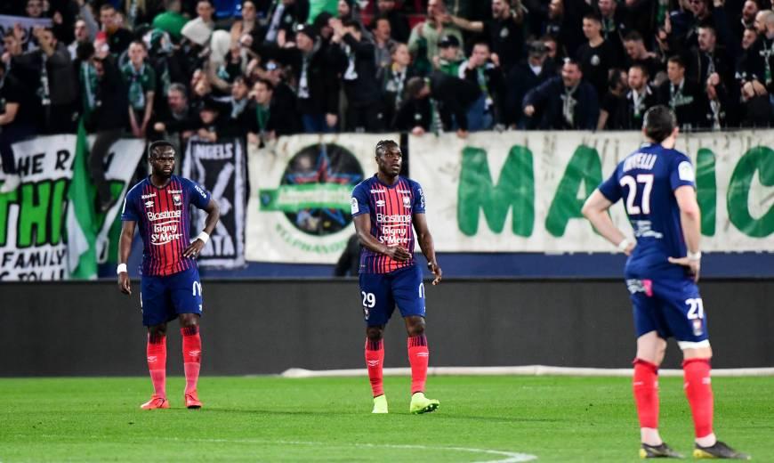 J29 - SM Caen / AS Saint-Etienne : l'album-photos