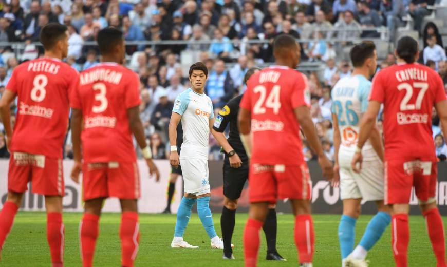J9 . Olympique de Marseille / SM Caen: L'album-photo