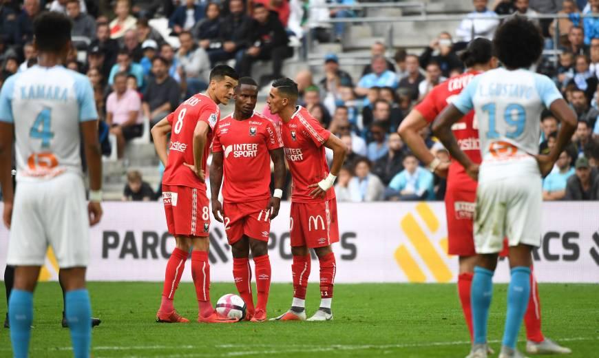 J9 . Olympique de Marseille / SM Caen: L'album-photo