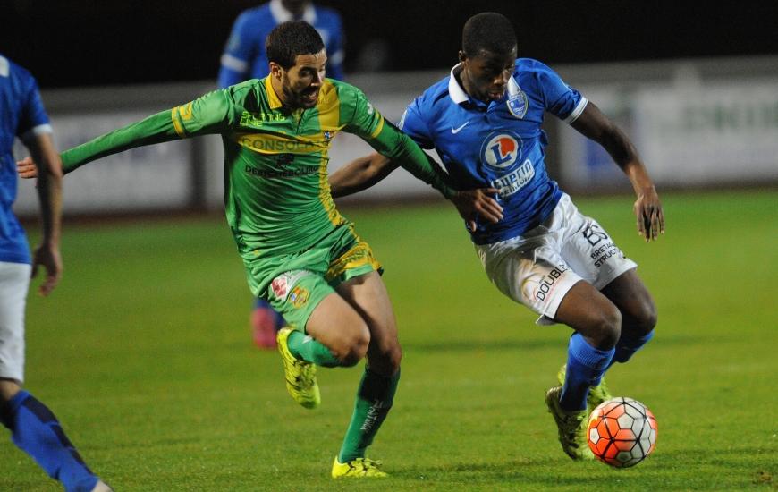 Sous contrat avec le Stade Malherbe, mais prêté à l'US Avranches, Cheik Traoré symbolise la parfaite entente entre les deux clubs phares de Basse-Normandie.