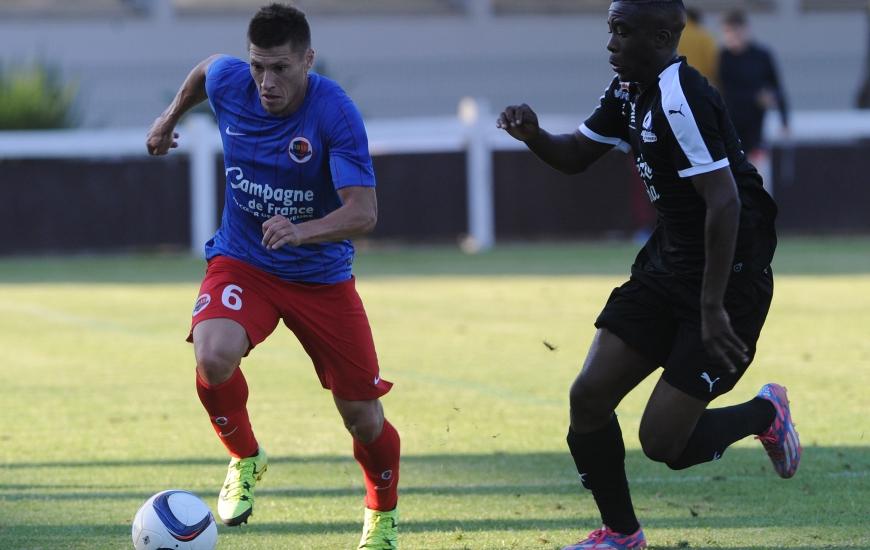 Deuxième sortie amicale pour Jonathan Delaplace et les Caennais qui défient des Havrais particulièrement ambitieux en Ligue 2 cette saison.