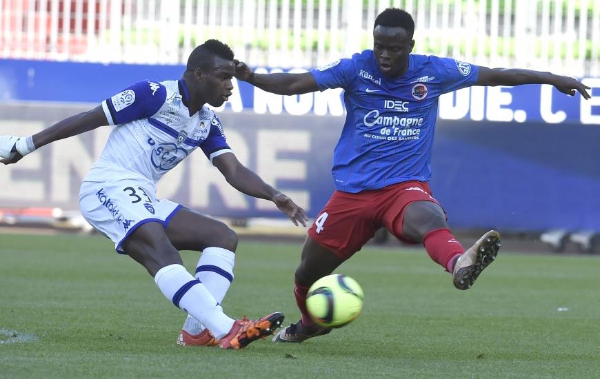 """Prêté avec option d'achat par les """"Verts"""" cet hiver, Ismaël Diomandé va signer un contrat de trois ans avec le SMC. L'international ivoirien sera lié au club normand jusqu'en 2019."""
