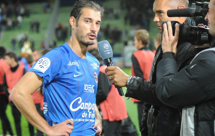 Nicolas Seube est le neuvième joueur de l'effectif de Patrice Garande à prolonger son contrat depuis le début de la saison(1).