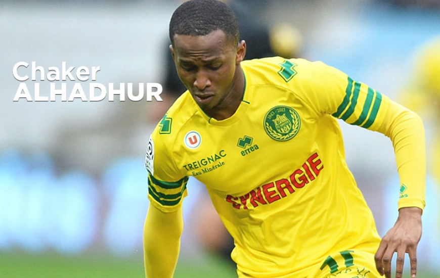 Après Florian Le Joncour, Jordan Nkololo et Vincent Bessat, Chaker Alhadhur constitue la quatrième recrue du SM Caen lors de ce mercato estival.