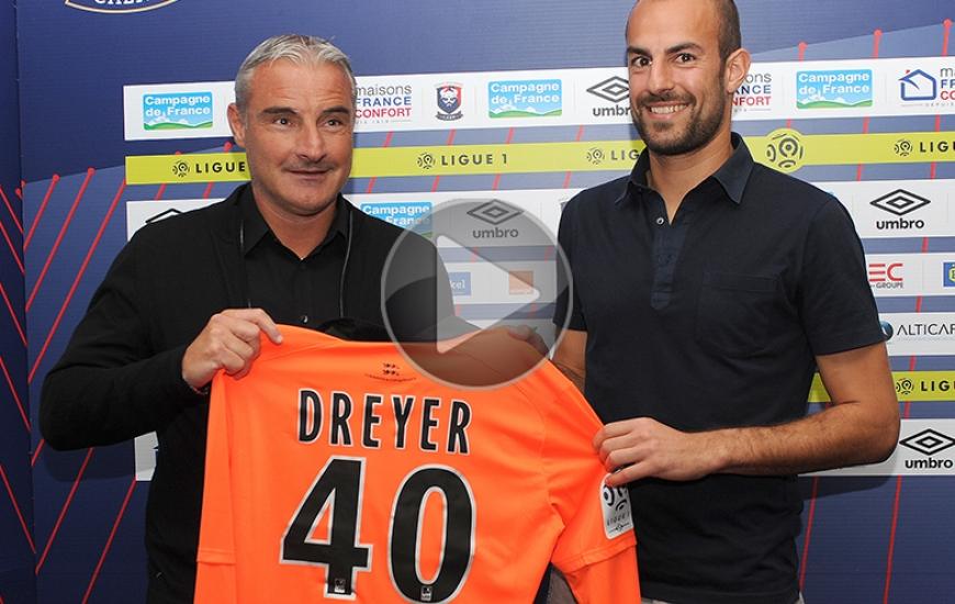 Alors qu'il devait s'engager en Suède après avoir résilié son contrat avec Troyes, Matthieu Dreyer n'a pas hésité une seule seconde quand Alain Cavéglia l'a contacté.