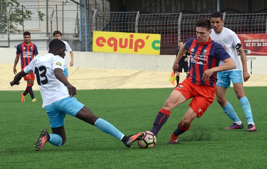 Dernier match de la saison pour la réserve du Stade Malherbe en CFA2 avec la réception du Maccabi Paris ; une formation francilienne qui n'a pas encore assuré son maintien.