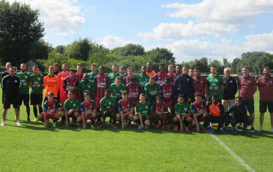 Face aux U19 nationaux du Stade Malherbe, on retrouvait deux anciens pensionnaires du centre de formation caennais dans les rangs alençonnais avec Louis Deschateaux et Joshua Curtius.