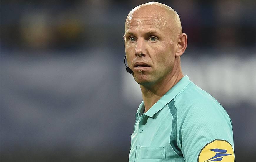 Amaury Delerue a déjà arbitré à deux reprises cette saison le Stade Malherbe pour un bilan pour le club normand d'une victoire à Rennes (J8. 1-0) et d'une défaite contre Lyon (J16. 1-2).