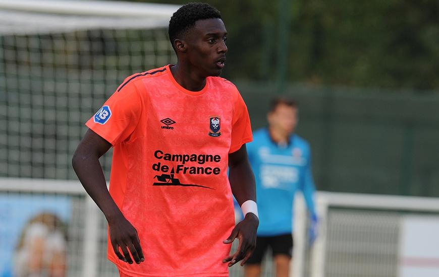 Ancien pensionnaire du centre de formation de Bordeaux, le défenseur Arnaud Mwendy a été mis à l'essai par la réserve du Stade Malherbe lors du match face à Mondeville.