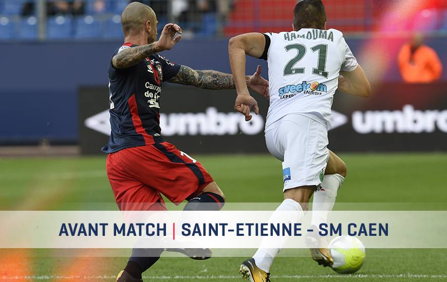 [23e journée de L1] AS Saint Etienne 2-1 SM Caen Asse-smc-avant-match