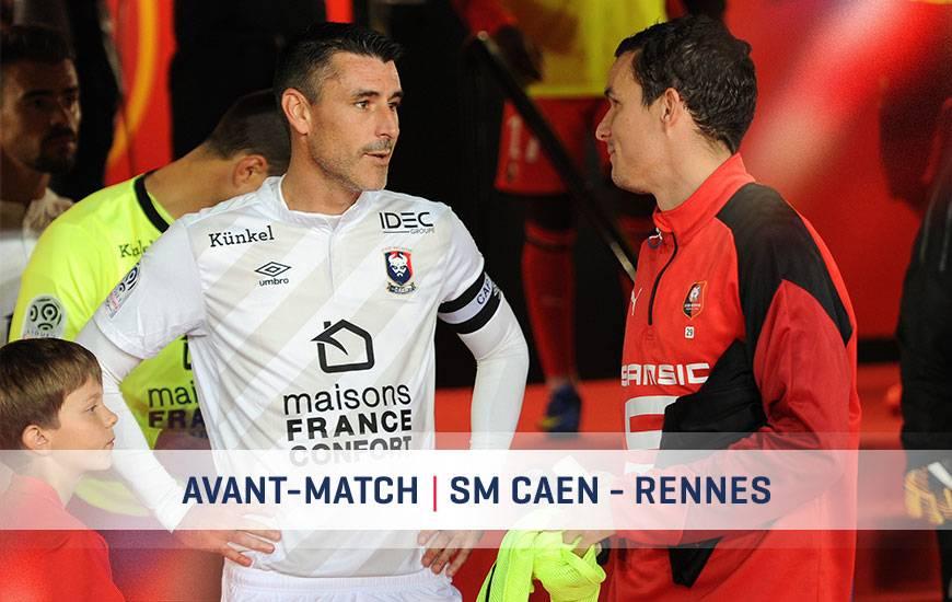 [26e journée de L1] SM Caen 2-2 Stade Rennais Avant-match-smc-sr