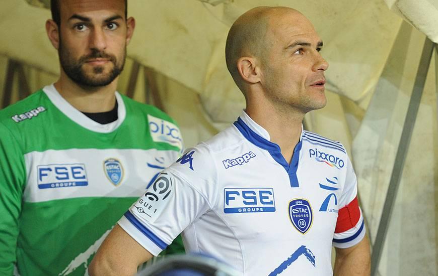 Joueur du Stade Malherbe entre 2007 et 2012, Benjamin Nivet - victime d'un arrachement osseux au pied gauche - n'aura pas le plaisir de refouler la pelouse de d'Ornano.