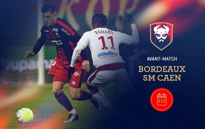 [21e journée de L1] FC Girondins de Bordeaux 0-2 SM Caen Bordeaux-smc-avant-match