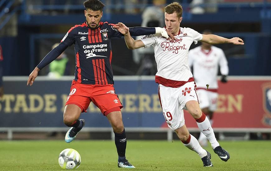 La confrontation entre les Girondins de Lukas Lerager et le Stade Malherbe de Youssef Aït Bennasser sera retransmise en intégralité sur beIN Sports 1. Coup d'envoi à 19 heures.