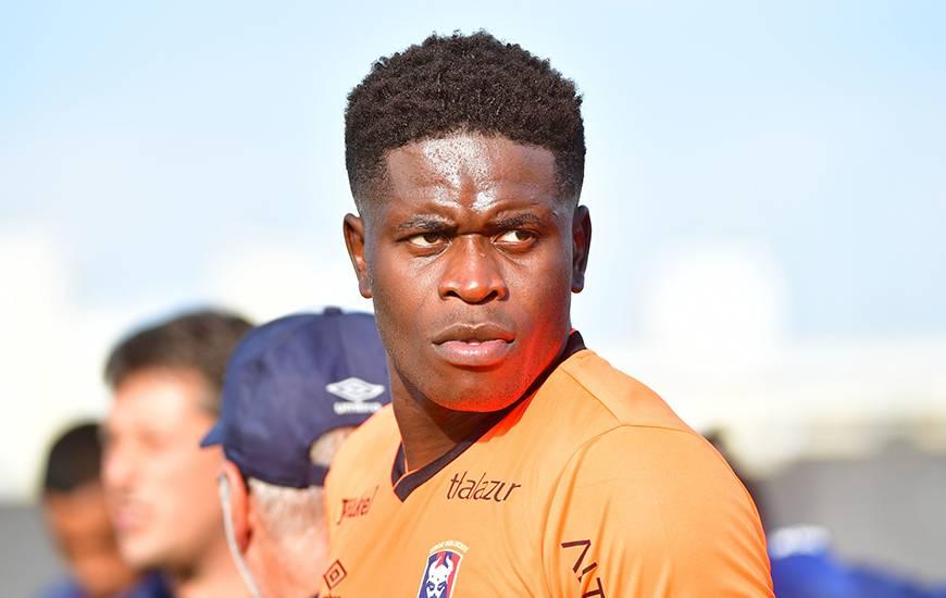 Brice Samba a disputé l'intégralité de la rencontre dans le but du Stade Malherbe et s'est montré décisif en toute fin de rencontre pour empêcher l'égalisation du Angers SCO