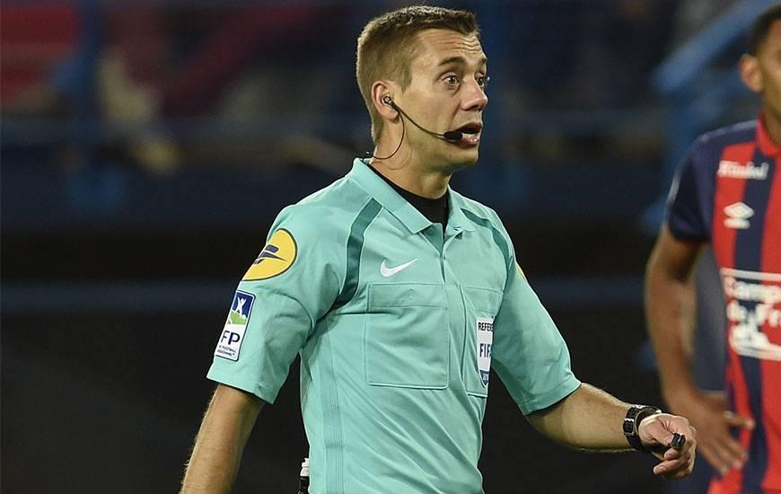 Clément Turpin arbitrera pour la première fois le Stade Malherbe depuis un an et demi.