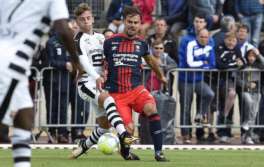 S'il joue contre Saint-Etienne, Damien Da Silva disputera son 100e match en Ligue 1 ; tous avec le Stade Malherbe.