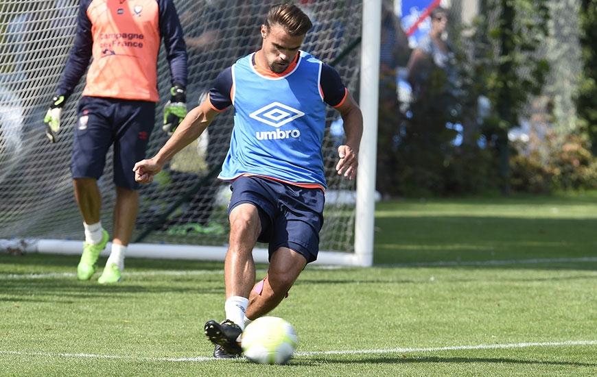 """Suspendu lors de la 1re journée à Montpellier, Damien Da Silva effectue son retour sans les """"18"""" de Patrice Garande. C'est la seule modification apportée par le coach caennais dans son groupe."""