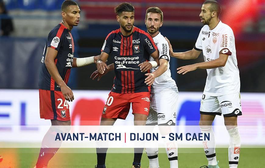 [27e journée de L1] Dijon FCO 2-0 SM Caen  Dfco-smc-avant-match