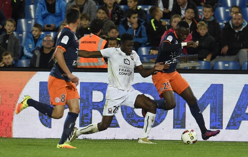 Romain Genevois et les Caennais lanceront leur saison au stade de La Mosson face à Montpellier.