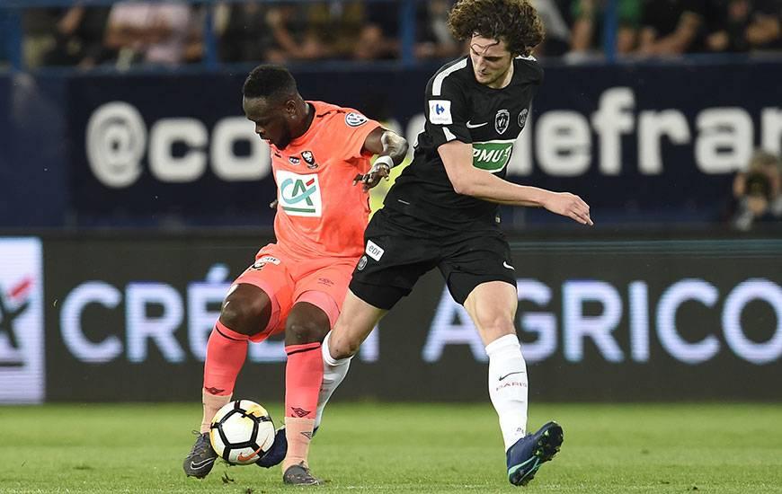 Expulsé face au PSG d'Adrien Rabiot mercredi soir en demi-finale de la Coupe de France, Ismaël Diomandé est automatiquement suspendu pour le déplacement à Metz.