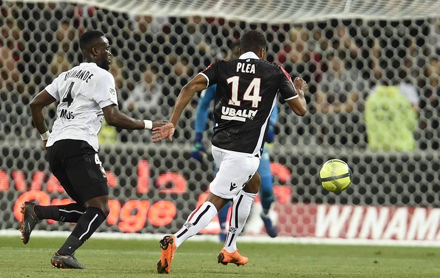 Expulsé face à Nice le week-end dernier, Ismaël Diomandé a écopé de trois matches de suspension fermes.