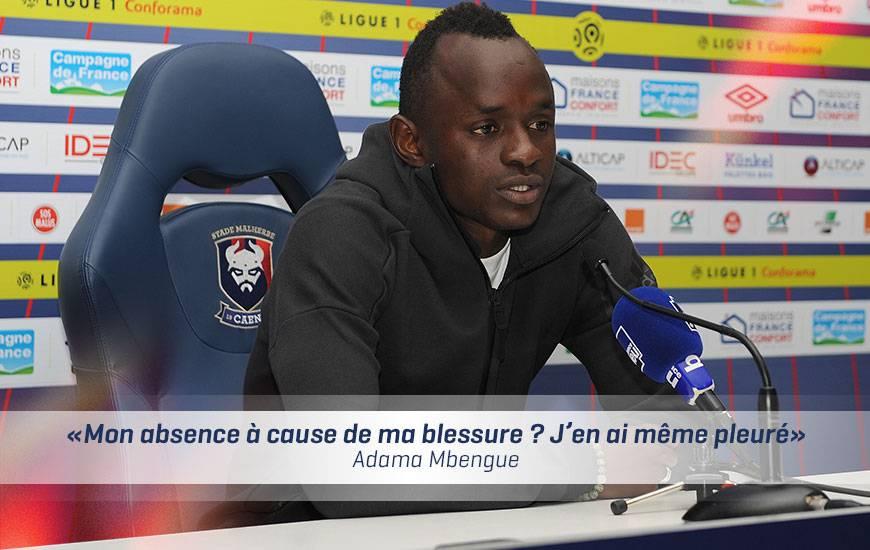 [37e journée de L1] OGC Nice 4-1 SM Caen  Itw-adama-mbengue