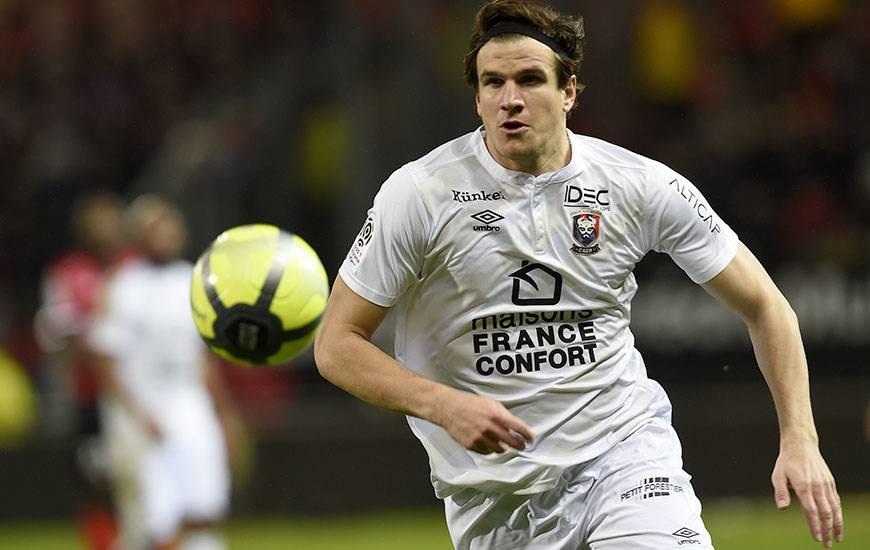 Cette saison, Ivan Santini a inscrit 11 buts en Ligue 1 avec le Stade Malherbe.