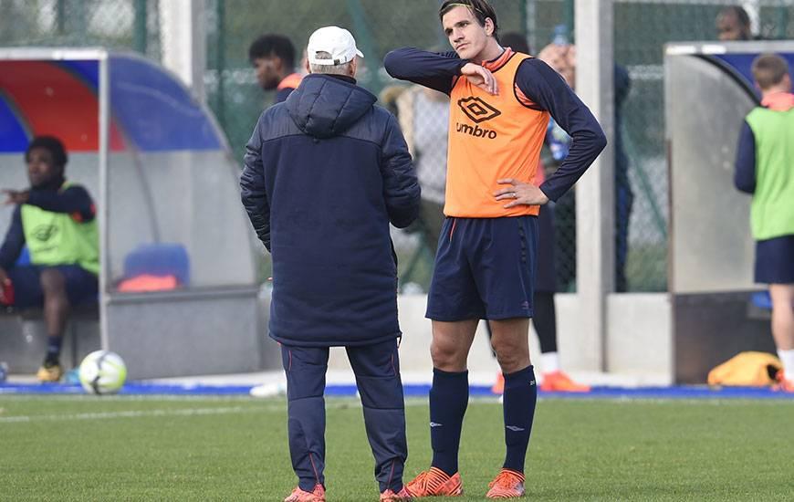 """Pour Patrice Garande, la participation d'Ivan Santini à la Coupe du Monde 2018 en Russie dépend de son efficacité. """"Pour un avant-centre, il n'y a que ça qui compte""""."""