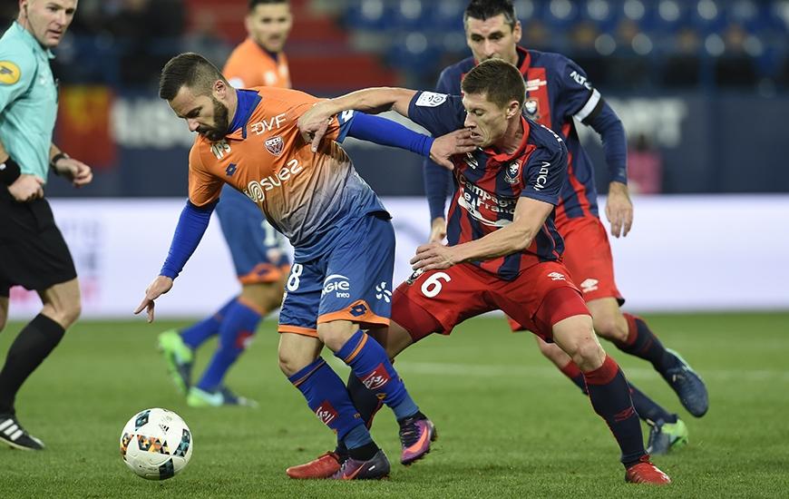 La confrontation entre le Stade Malherbe de Jonathan Delaplace et le Dijon de Frédéric Sammaritano sera retransmis en intégralité sur beIN Sports max 4.