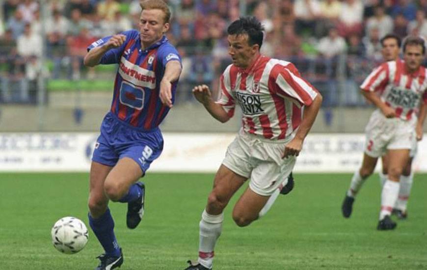 En octobre 1994, le Suédois Kennet Andersson avait signé un triplé lors de la plus large victoire du Stade Malherbe aux dépens du Stade Rennais (5-1). ©Photo d'archives